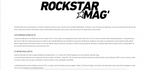 Photo of the company Rockstar Mag.fr who recruits in the video game and the Esport