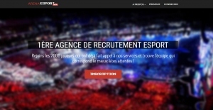 Photo of the company Arena Esport who recruits in the video game and the Esport